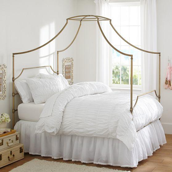 Maison Canopy Bed From Pbteen