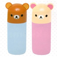 San-X Rilakkuma 1-Oz Travel Bottle: 2-Piece Set