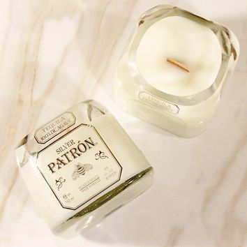 Patron Silver Tequila Candle