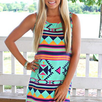 Print Chiffon Homecoming Party Dress