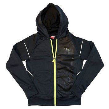 MDIGPL3 PUMA French-Terry Full-Zip Hoodie - Boys 8-20 Size