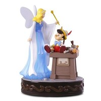 Disney Pinocchio A Real Boy Ornament With Light and Sound