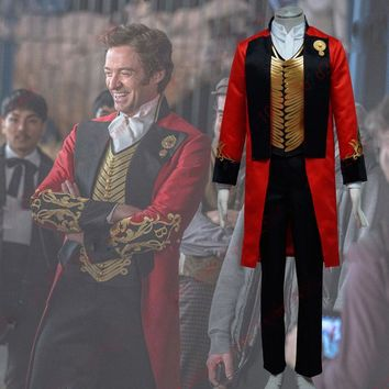 The Greatest Showman P. T. Barnum Cosplay Costume Circus Halloween Costume Birthday Gift For Christmas party