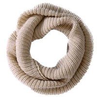niceeshop(TM) Soft Comfortable Warm Wool Knit Infinity Scarves Loose Loop Circle Scarf Wrap For Women-Creamy White