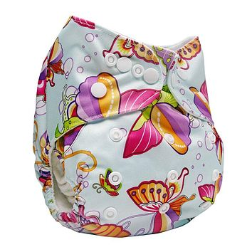 Bear Leader 2017 Baby Cloth Diaper Reusable Pocket Nappies Washable Modern Cloth Nappy Diaper Cover Suit 0-2Years With Insert