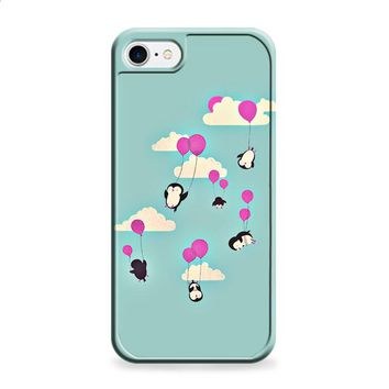 Cute penguines and baloons iPhone 6 | iPhone 6S case