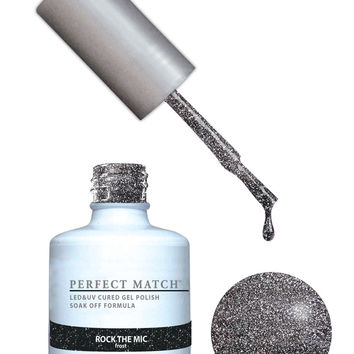 LeChat Perfect Match Gel / Lacquer Combo - Rock The Mic  0.5 oz - #PMS158