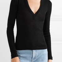 T by Alexander Wang - Ribbed wool sweater