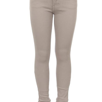 Light Grey KIDS 5 Pocket Classic Pants