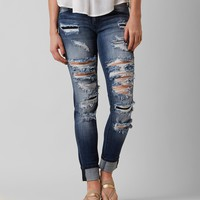 KanCan Skinny Stretch Cropped Jean