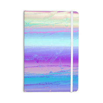 "Nina May ""Drip Dye Cool"" Pastel Blue Everything Notebook"
