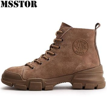 MSSTOR 2018 Spring Autumn Women's Skateboarding Shoes Athletic Walking Ladies Sneakers Casual Fashion Sport Shoes Woman Brand