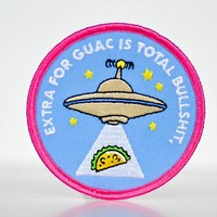 Extra for Guac is Bullshit... Patch.