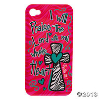 "Cherished Girl™ ""Whole Heart"" iPhone Case, Costumes & Accessories, Sunday School, Teaching Supplies & Stationery - Oriental Trading"