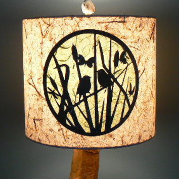 Window to the Meadow Paper Lamp Shade