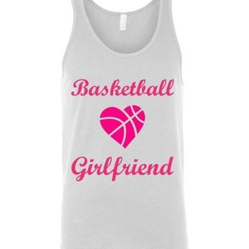 Basketball Girlfriend Unisex Tank Top