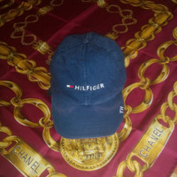 Vintage Tommy Hilfiger Nautical Sport Embroidered hat Made in Bangladesh