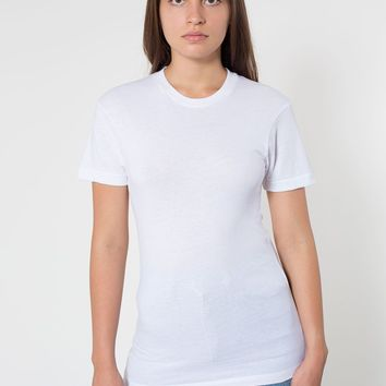 6401w - Unisex Sheer Jersey Short Sleeve Summer T-Shirt