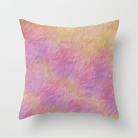 Decorative Throw Pillow Cover - different sizes to Choose From, Square, Rectangular, Double-sided print, Indoors, Outdoors, Abstract, Yellow