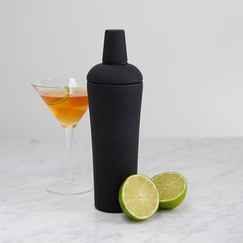 Black Nuance Cocktail Shaker