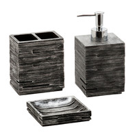 Jovi Home Urban 3 Piece Bath Accessory Set