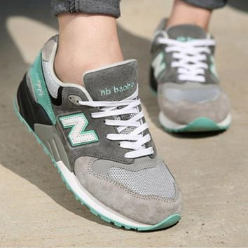 New Balance ML999MMT Fashion Running casual shoes Mint green