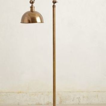 Oswald Floor Lamp by Anthropologie Bronze One Size Lighting