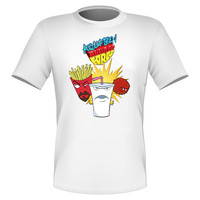 Brand New Fun Custom Aqua Teen Hunger Force T-shirt ATHF #3