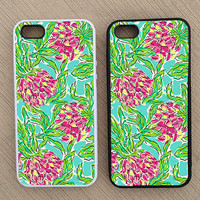 Floral Pattern iPhone Case, iPhone 5 Case, iPhone 4S Case, iPhone 4 Case - SKU: 188