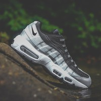 WMNS Nike Air Max 95 QS (Metallic Platinum/Black-White)