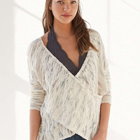 Kimchi Blue Sunny Surplice Sweater - Urban Outfitters