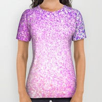 Glitter Shiny Sparkley All Over Print Shirt by WonderfulDreamPicture