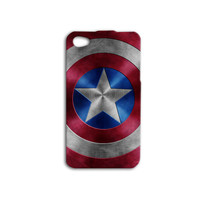 Captain America Shield iPhone Case Cute iPod 4 Case Funny iPod 5 Case Cool iPhone 5c Case iPhone 4 Case Marvel iPhone 5 Case iPhone 4s Case
