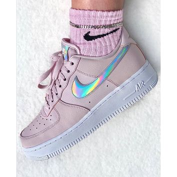 NIKE Air Force 1 Women's Slouchy Sneakers Pink