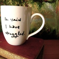 In vain I have struggled by Brookish on Etsy
