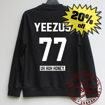 YEEZUS 77 Sweatshirt Sweater Hiphop Sweatshirt Sweater Shirt – Size XS S M L XL