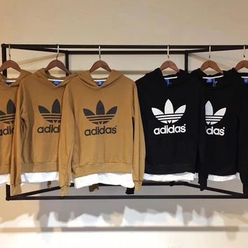 Adidas fake two sweaters