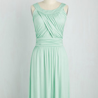 So Happy to Gather Dress in Mint | Mod Retro Vintage Dresses | ModCloth.com