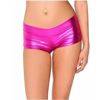 Low Waist Elastic Festival Shorts