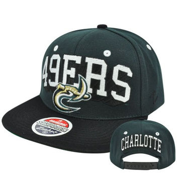 NCAA Zephyr Blockbuster TC UNC Charlotte 49ers North Carolina Snapback Hat Cap
