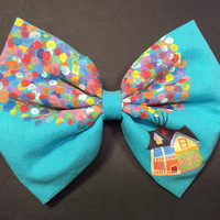 Disney Pixar's Up Inspired Bow