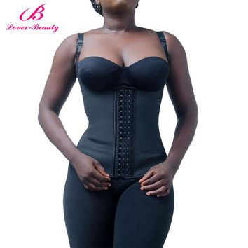 Lover Beauty Latex Waist Corset Waist Traine Vest Corset Slimming Weight Loss Body Shapers Women Body Shapewear