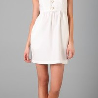 Tibi Cotton Tank Dress