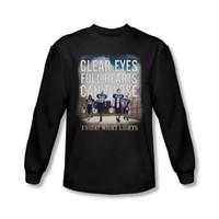 Mens FRIDAY NIGHT LIGHTS Long Sleeve MOTIVATED T-Shirt Tee Size S-2XL