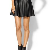 Eight Sixty Haley Faux Leather Skirt