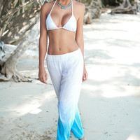 Loose Comfortable Beach Pants-Resort Wear