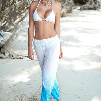 Loose Comfortable Beach Pants-Beach Wear