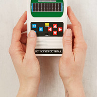 Classic Electronic Football Handheld Game | Urban Outfitters