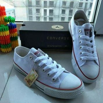DCKL9 Converse Chuck Taylor All Star' Unisex Sport Casual Low Help Shoes Canvas Shoes Coupl