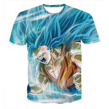Dragon Ball Z - Gohan - Super Saiyan Anime T-Shirt